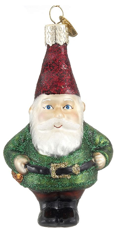gnome personalized ornament