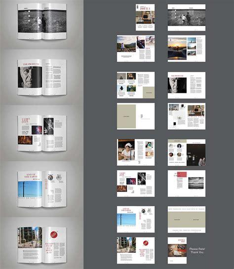 indesign template multipurpose magazine