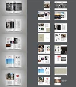 free indesign template o multipurpose magazine With indesign digital magazine templates