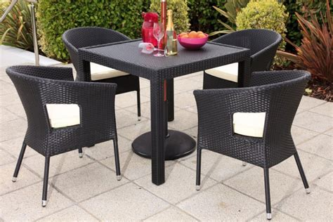 rattan kitchen table and chairs rattan table chair sets outdoor furniture havertys kitchen