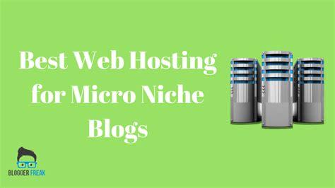 web hosting  micro niche blogs