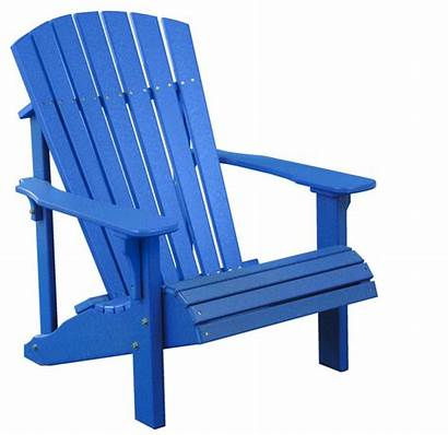 Chair Clipart Lawn Outdoor Clip Cliparts Adirondack