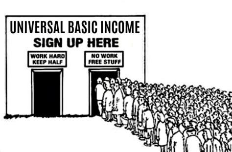 universal basic income   solution michael