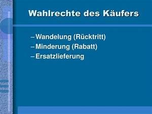 Rechte Des Käufers : ppt mangelhafte lieferung powerpoint presentation id ~ Lizthompson.info Haus und Dekorationen