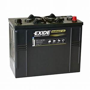 Batterie Exide Gel : exide leisure battery equipment gel es1300 low cost batteries online ~ Medecine-chirurgie-esthetiques.com Avis de Voitures