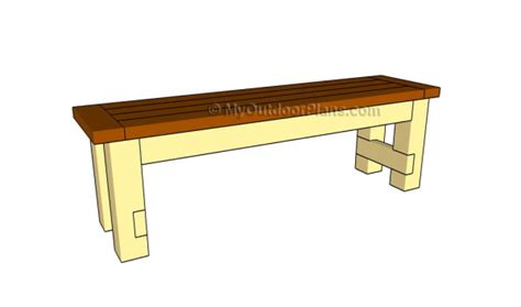 how to build a bench seat how to build a seat bench myoutdoorplans free