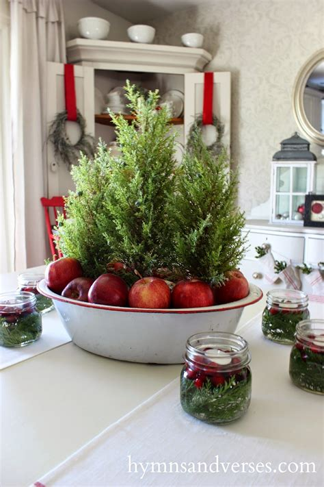 Rustic Christmas Table Centerpieces  Harbor Farm Wreaths