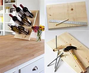 Selber Bauen Mit Holz : so einfach kann man ein eigenes weinregal selber bauen ~ Lizthompson.info Haus und Dekorationen
