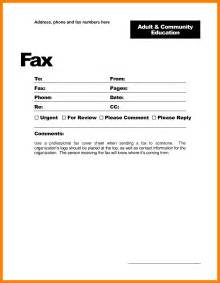 Free Fax Cover Letter Templates For A Resume by 7 Fax Cover Sheet Exle Word Teller Resume