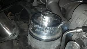 Fuel Filter Cap Stuck   Filter Housing Replacement