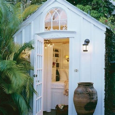 decorating a shed sheds summerhouses garden decorating ideas