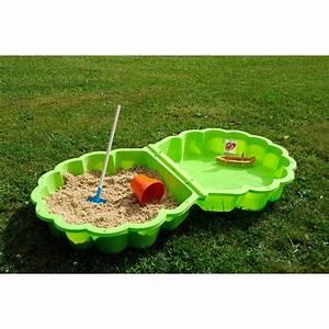 Bac À Sable Plastique : bac sable plastique soulet vert x cm leroy ~ Melissatoandfro.com Idées de Décoration