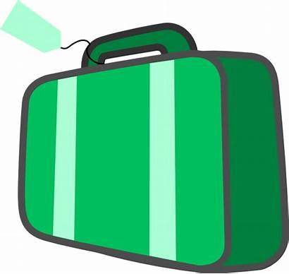 Suitcase Clipart Clip Luggage Travel Cliparts Baggage