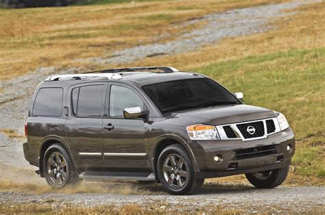 nissan armada review ratings specs prices
