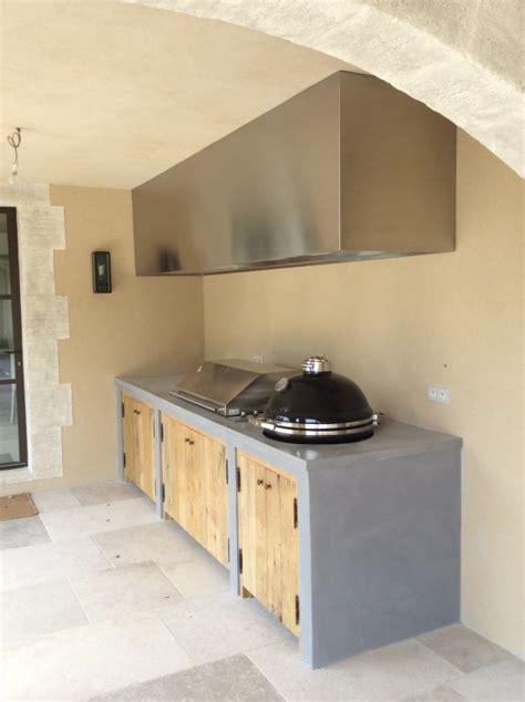 plan cuisine d été cuisine d été avec plan de travail en inox so inox