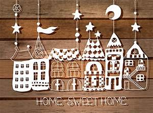 Photo Home Sweet Home Building Vector Graphics