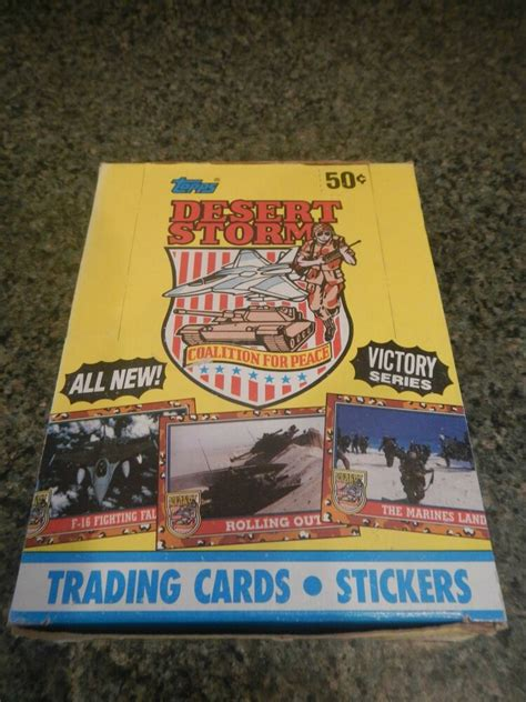 The company was named after a guild of wizards from a dungeons & dragons campaign adkison was playing. 1991 Topps Desert Storm Victory Series Trading Cards - 36 Sealed Packs in Box | eBay