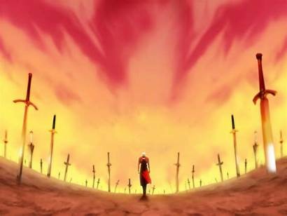 Night Fate Unlimited Blade Works Stay Anime