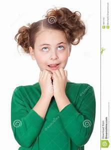 Shocked Beautiful Girl Making Wow Expression Stock Photo ...