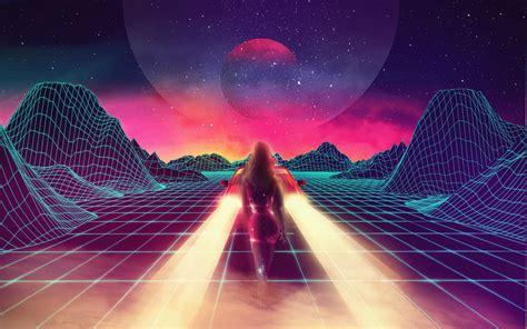 Retro Neon Wallpaper Pc by New Retro Wave Synthwave 1980s Neon Car Retro