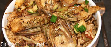 cuisiner artichaut violet risotto aux artichauts violet