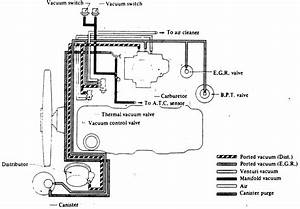 Need Vaccum Hose Diagram For 1986 Nissan Pickup