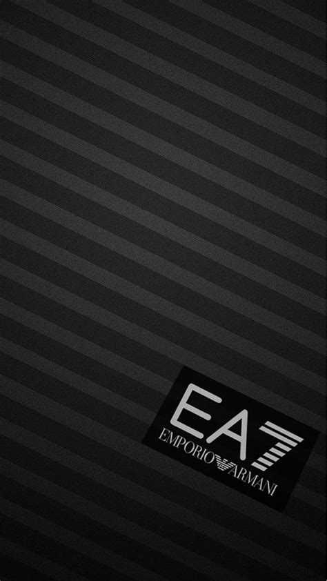 emporio armani logo wallpapers wallpaper cave