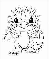 Coloring Dragon Train Stormfly Popular Template Wonder sketch template