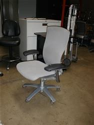 used ergonomic grey office chairs in office furniture