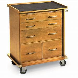 Rolling Storage Cabinet With Drawers - Manicinthecity