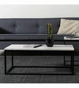 Couchtisch Marmor Schwarz : zuiver marmor marmor couchtisch strom 90x40x35cm ~ Whattoseeinmadrid.com Haus und Dekorationen
