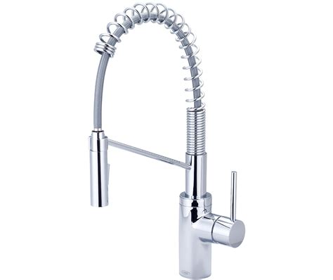 restaurant kitchen pre rinse faucets motegi single handle pull pre rinse kitchen faucet 2mt275 by pioneer