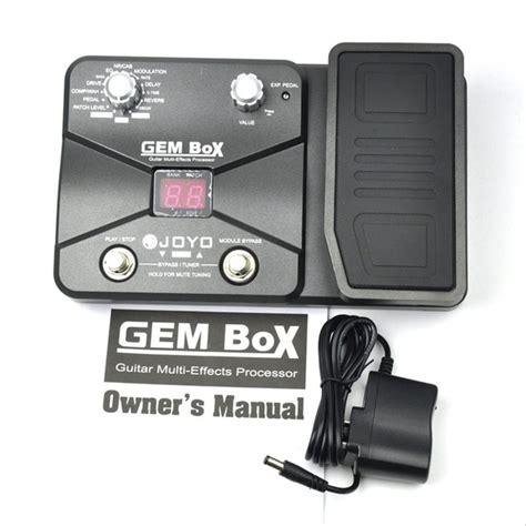 Harga publish / ecer 1 paket ini 325rb. Jual Joyo Gem Box - Efek Gitar Multi Digital di lapak Omni Musik omnimusik