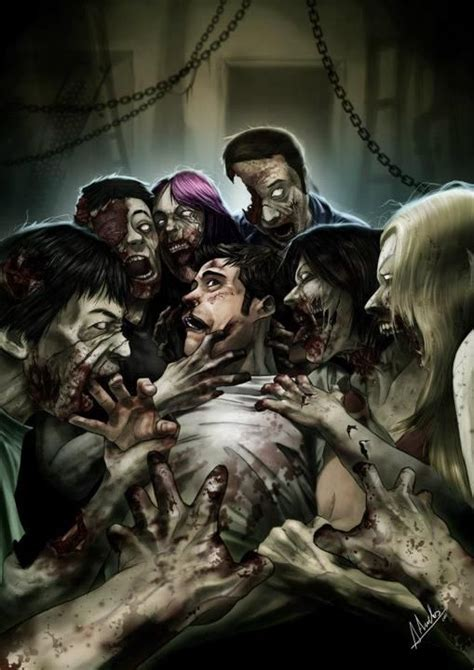 zombie deviantart zombies feast attack late night apocalypse snack monster artwork dead nights horror must deviant undead discover