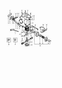 Craftsman 358350060 Gas Chainsaw Parts