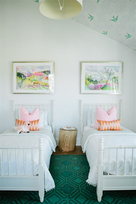 The Modern Farmhouse Project Girl's Bedroom  House Of