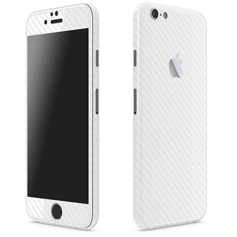 white iphone 6 iphone 6 carbon series white skins wraps slickwraps