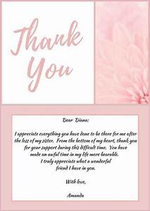 25+ best ideas about Funeral thank you notes on Pinterest ...