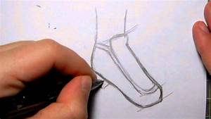 How to Draw Manga Shoes: School Girl Shoes - YouTube