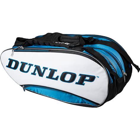 dunlop srixon thermo bag  racket bag whiteblue tennisnutscom