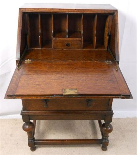 oak writing bureau uk small oak writing bureau 202726 sellingantiques co uk