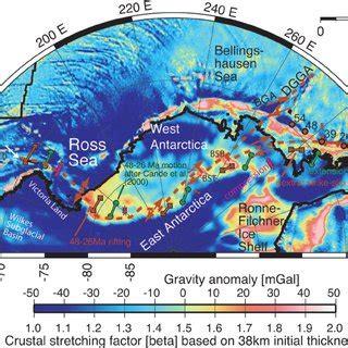 (pdf) Eocene To Miocene Geometry Of The West Antarctic Rift System