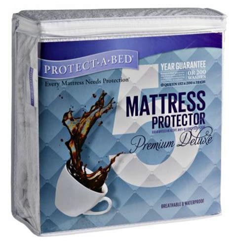 protect a bed premium mattress protector premium waterproof mattress protector