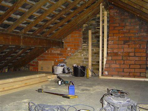 making  stud wall   diy loft conversion