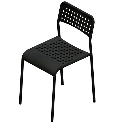 chaise grise but oggetto bim adde chair ikea