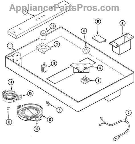 jenn air cooktop parts parts for jenn air jed8430adq parts