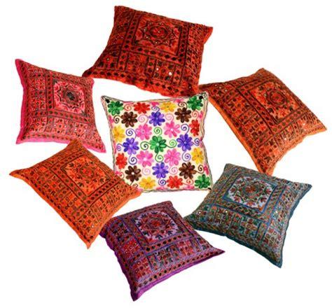 India Kussens nieuwe kleurrijke kussens uit india vrolijke folklore