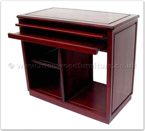 computer desk with casters rosewood black wood computer desk with casters ffbw36com