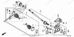 Honda Side By Side 2016 Oem Parts Diagram For Front
