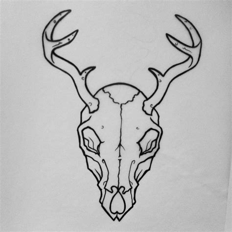 deer skull tattoos tumblr google search tattoos